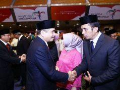 Menteri Pariwisata RI, Arief Yahya lantik Reza Fahlevi di Jakarta, Rabu (28/2). (Foto/Ist)