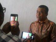 Calon Wakil Bupati Pidie Jaya, H.Said Mulyadi, SE, MSi, saat memberi keterangan pers. (Waspada/Aldin NL)