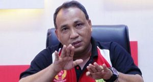 Ketua Harian KONI Aceh, Kamaruddin Abubakar alias Abu Razak. (Foto/Aldin NL)