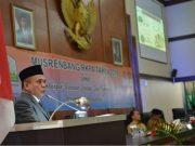 Gubernur Aceh, Irwandi Yusuf, membuka Musrenbang RKPA tahun 2019 di Gedung Utama DPR Aceh, Banda Aceh, Senin, (16/4/2018). (Foto/Ist)