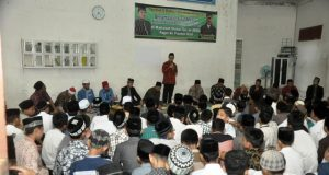 MUQ Pagar Air Aceh Besar kerap menggelar even, seperti dalam gambar ustad Yusuf Mansyur diundang untuk memberi motivasi kepada para santri. (Foto/Ist)