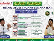 Jadwal Safari Dakwah UAS di Aceh. (Foto/Ist)