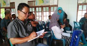 Suasana rekapitulasi perhitungan suara hasil Pilkada Kota Subulussalam di tingkat PPK Kec. Penanggalan, Kamis (28/06/2018). (Foto/KB Manalu)