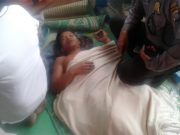 Salah seorang korban KM. Sinar Bangun, yang tenggelam di Danau Toba, yang berhasil dselamatkan tim SAR Senin petang tadi (18/6/2018). (Foto/Istimewa)