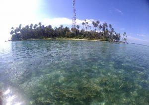 Keindahan Pulau Lamun yang berada di Kecamatan Pulau Banyak Barat, Aceh Singkil. (Foto/Dani Randi)