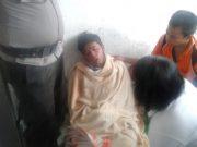 Salah seorang korban KM Sinar Bangun yang berhasil dievakuasi dan kini dalam perawatan intensif di Tigaras, Simalungun. (Foto/Ist)