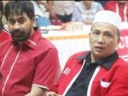 Kamaruddin Abubakar alias Abu Razak bersama Ketum DPA PA, Muzakir Manaf alias Mualem. (Foto/Ist)