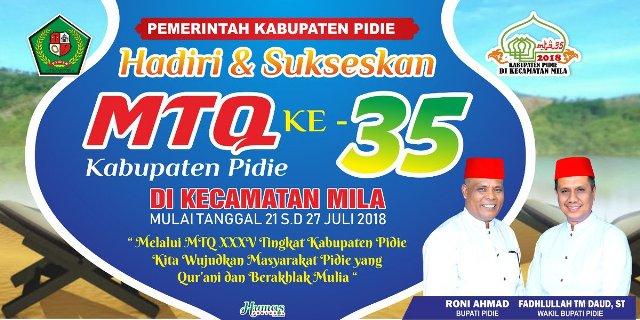 Mtq Pidie Ke 35 Sisakan Cerita Miring Waspada Aceh