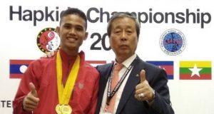 Hurairah M Harun, Pemuda Aceh Kelahiran Sibreh Kecamatan Suka Makmur Kabupaten Aceh Besar, juara dunia Hapkido di Korea Selatan. (Foto/Ist)