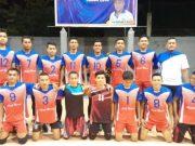 Tim voli putra Aceh Besar yang dipersiapkan ke PORA XIII/2018, November mendatang di Kota Jantho (Foto/Ist)