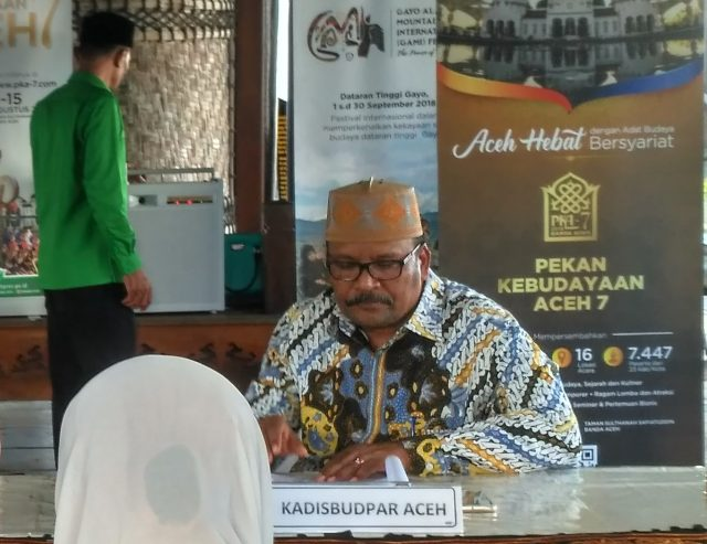 Plt Kepala Dinas Kebudayaan dan Pariwisata Aceh, Amiruddin. (Foto/Ist)