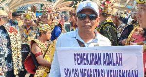 Bahktiar Adan, Ketua Forum Pemekaran Kabupaten Pidie Sakti. (Foto/Muhammad Riza).