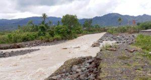 Beginilah kondisi saluran irigasi, Gampong Lupu, Dusun Lhok Meuliweuk, Geumpang, setelah dihantam banjir luapan yang terjadi beberapa waktu lalu. (Foto/Muhammad Riza)
