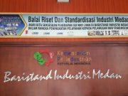 Kantor Balai Riset dan Standarisasi Industri (Baristand) Medan Kementerian Perindustrian (Kemenperin) RI di Jalan SM Raja Medan. (Foto/Ist)
