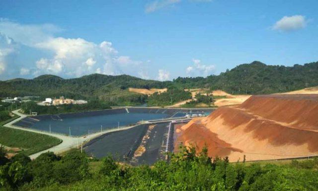 ILUSTRASI: Salah satu lokasi proses pemilahan mineral yang menggunakan teknologi pelindihan zero limbah PT Bumi Suksesindo (BSI) di Tumpangpitu, Banyuwangi. (Foto/ jatimnow.com)