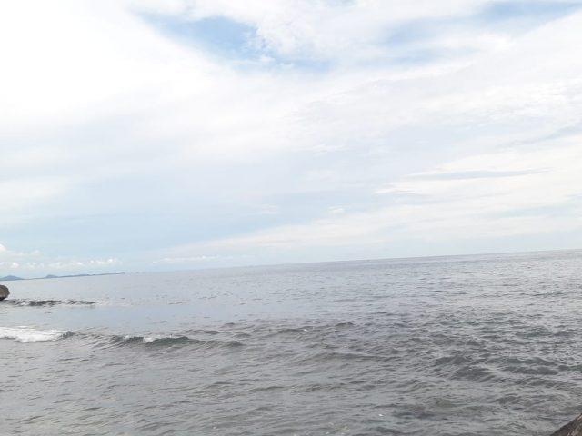 Kawasan pantai di Aceh Selatan yang sempat diisukan tsunami. (Foto/Faisal)