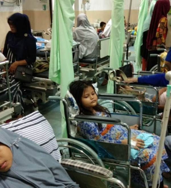 Demam Tinggi Serang Anak Balita Di Aceh Rumah Sakit Penuh Pasien Waspada Aceh