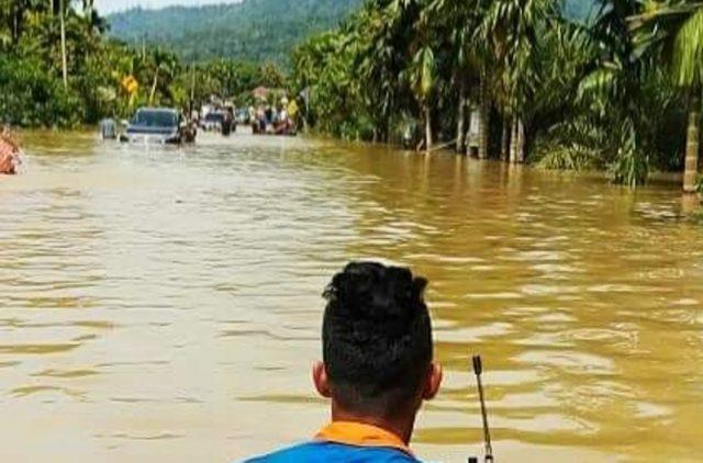 Banjir di Trumon Raya Aceh Selatan mengakibatkan kerugian mencapai Rp73 miliar. (Foto/Ist)