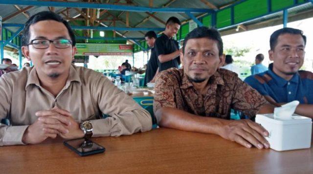 Anggota DPRK Banda Aceh Fraksi PKS ketika bersilahturahmi dengan wartawan. (Foto/Ist)