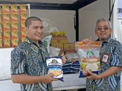 Operasi pasar Bulog Aceh gelontorkan 200 ton beras/hari ke pasar, Kamis (3/1/2019). (Foto/Ist)
